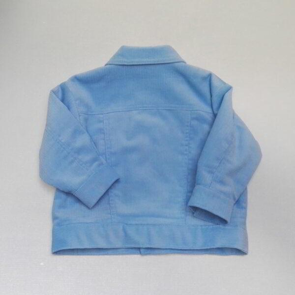 Baby Ribjas Achter blauw