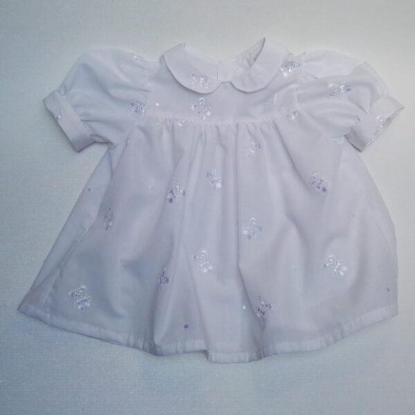 Baby Jurkje Pofmouw Beertjes Wit