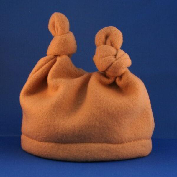 Baby Muts Fleece Knoop Bruin