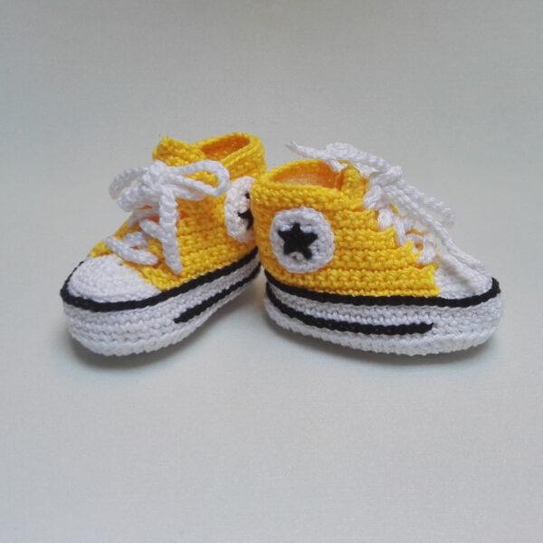 Baby Gympie Schoen AllStars geel