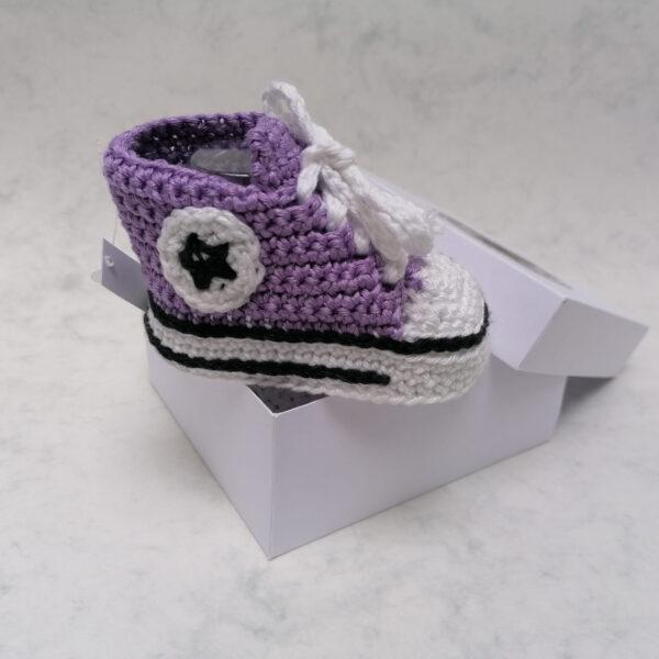Baby Gympie Schoen AllStars lila