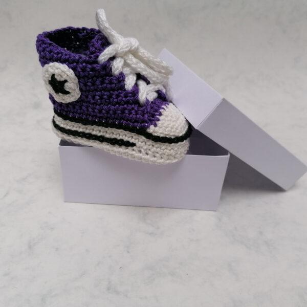 Baby Gympie Schoen AllStars paars