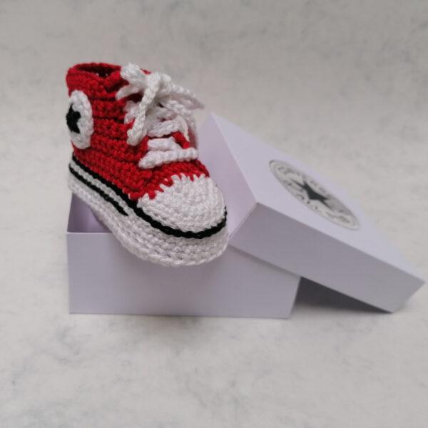 Baby Gympie Schoen AllStars rood