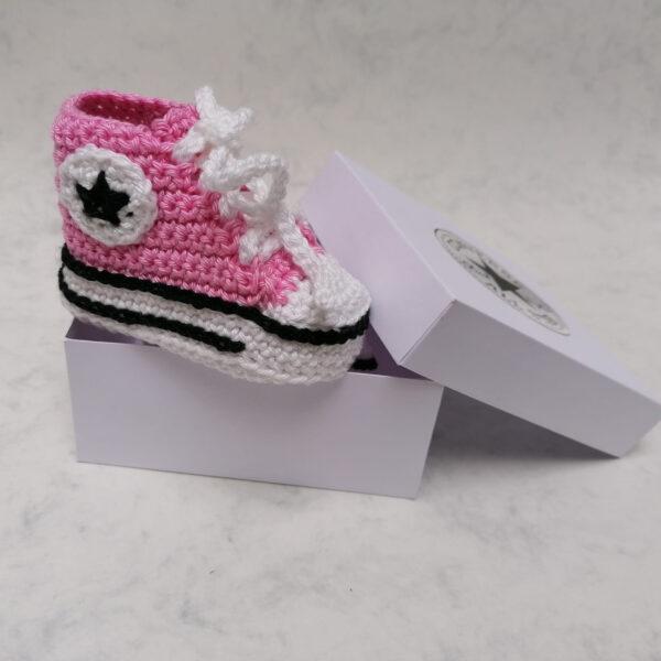 Baby Gympie Schoen AllStars roze