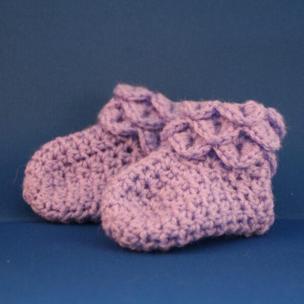 Baby Schoen Laarsje Lila