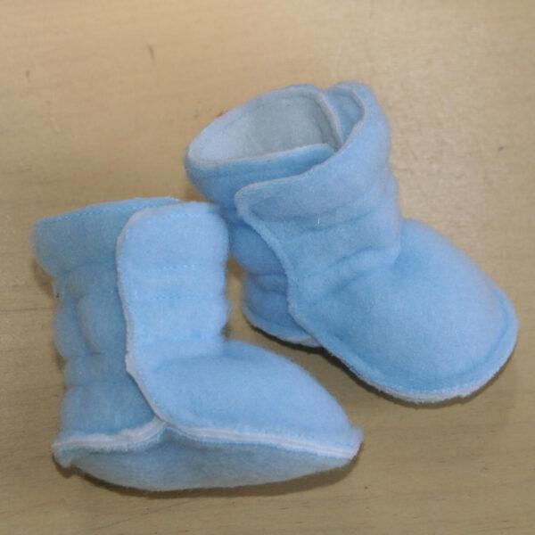 Baby Laarsje Fleece blauw