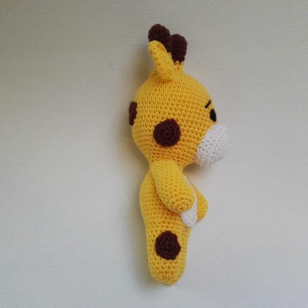 Baby Knuffel Giraffe Achter