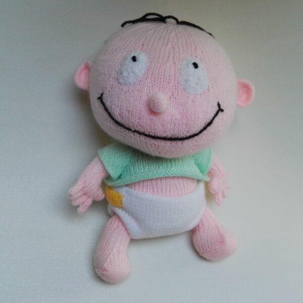 Baby Knuffel Gebreid Baby Voor