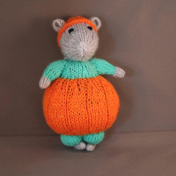 Baby Knuffel Haloween Hamster