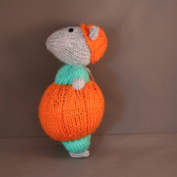 Baby Knuffel Haloween Hamster Zij