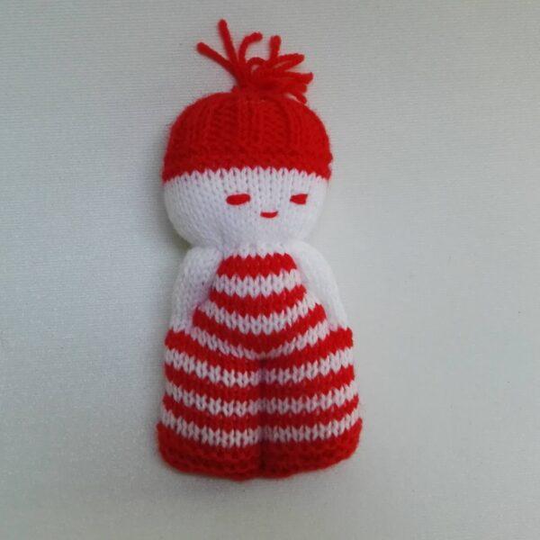 Baby Knuffel Klein Mannetje rood