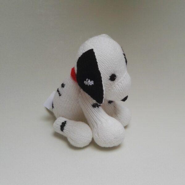 Baby Knuffel Gebreid Dalmatiër Zij1