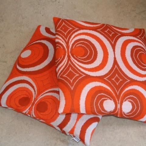 Kussen-Retro-Vintage-Oranje-Woninginrichting