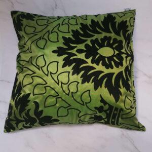ussenhoes satijn fluweel groen zwart