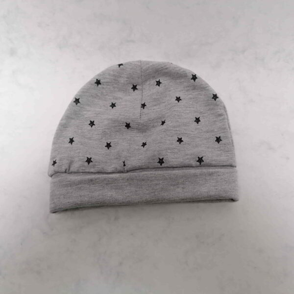 Baby Muts Tricot Ster Grijs