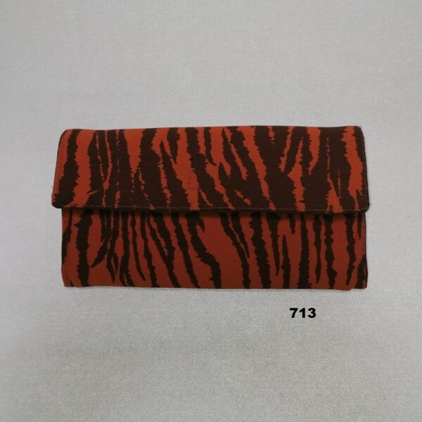 Portefeuille Tijgerprint bruin