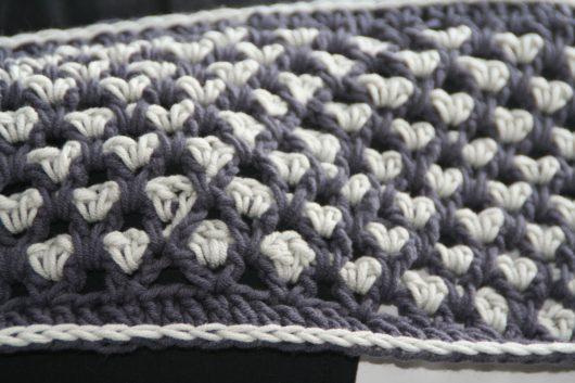 Sjaal cowl detail