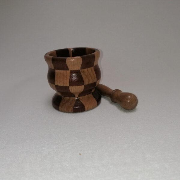 Vijzel hout gedraaid eiken 2