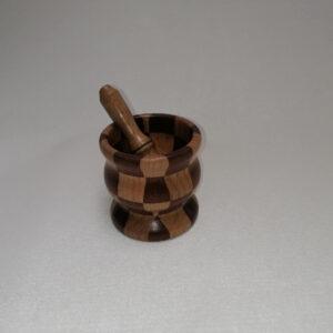 Vijzel hout gedraaid eiken