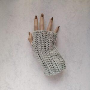 Handschoen-Vingerloos-Ribbel-Metsie