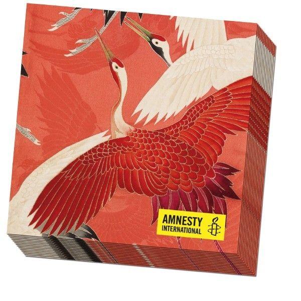 servetten_kraanvogels Amnesty
